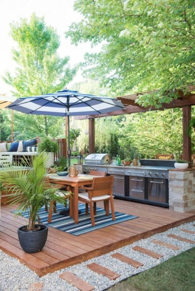 38 Cool Outdoor Kitchen Design Ideas 09