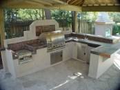 38 Cool Outdoor Kitchen Design Ideas 16