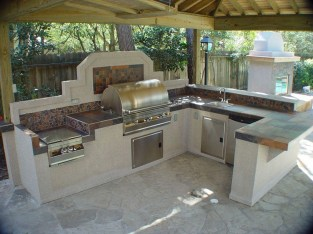 38 Cool Outdoor Kitchen Design Ideas 16