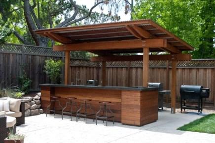 38 Cool Outdoor Kitchen Design Ideas 26