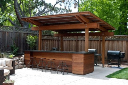 38 Cool Outdoor Kitchen Design Ideas 26