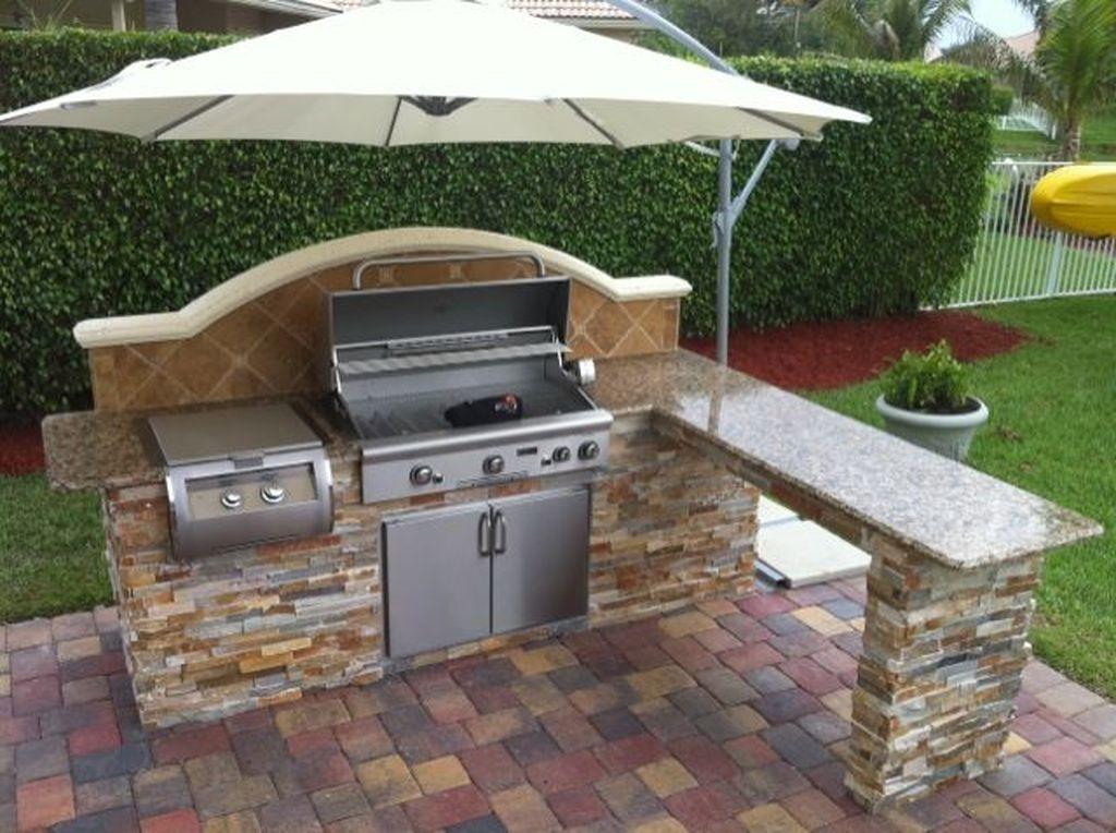 38 Cool Outdoor Kitchen Design Ideas 36