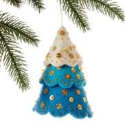 39 Brilliant Ideas How To Use Felt Ornaments For Christmas Tree Decoration 29
