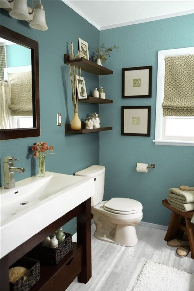 39 Cool And Stylish Small Bathroom Design Ideas27