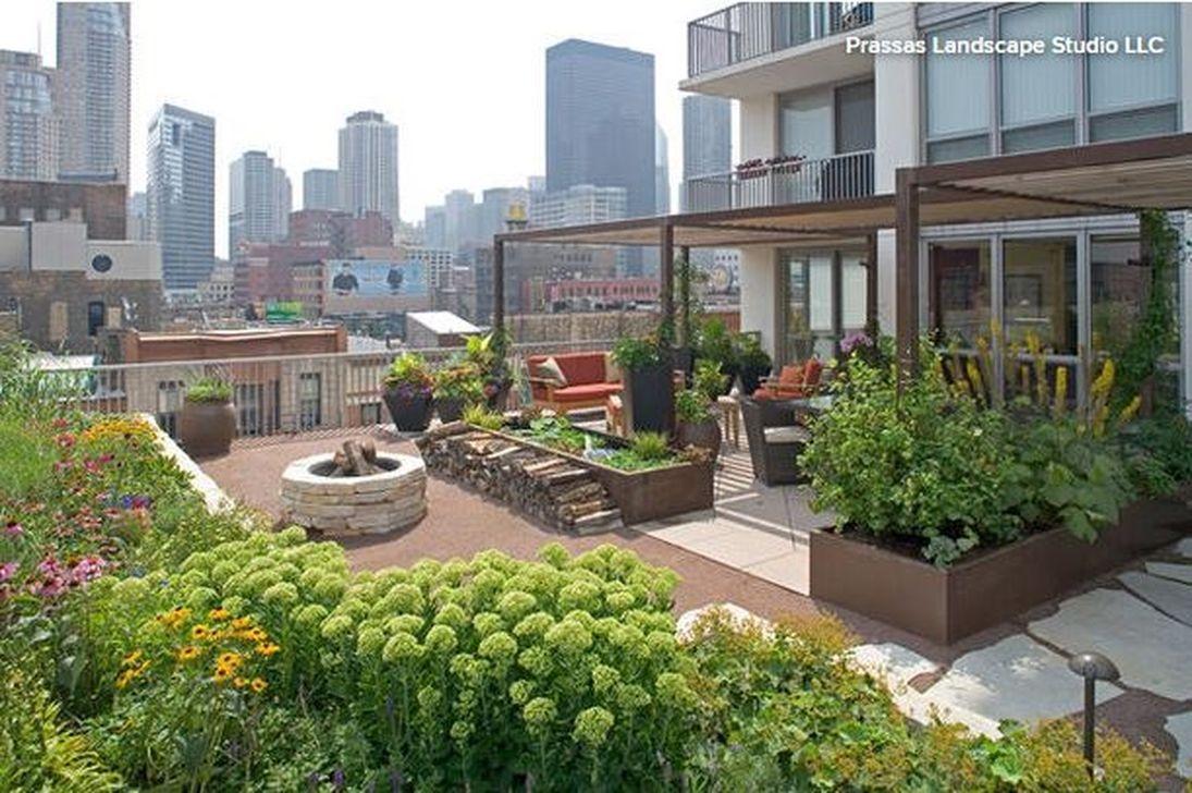 39 Inspiring Rooftop Terrace Design Ideas 10