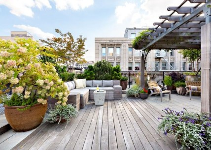 39 Inspiring Rooftop Terrace Design Ideas 28