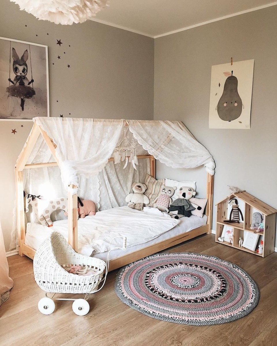 39 Wonderful Girls Room Design Ideas31