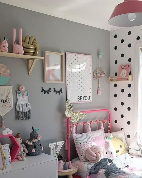 39 Wonderful Girls Room Design Ideas37