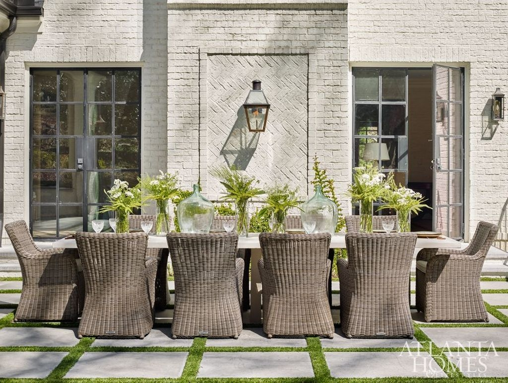 Adorable Outdoor Dining Area Furniture Ideas 14