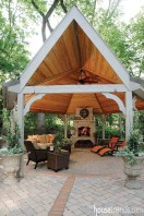 Adorable Outdoor Dining Area Furniture Ideas 29