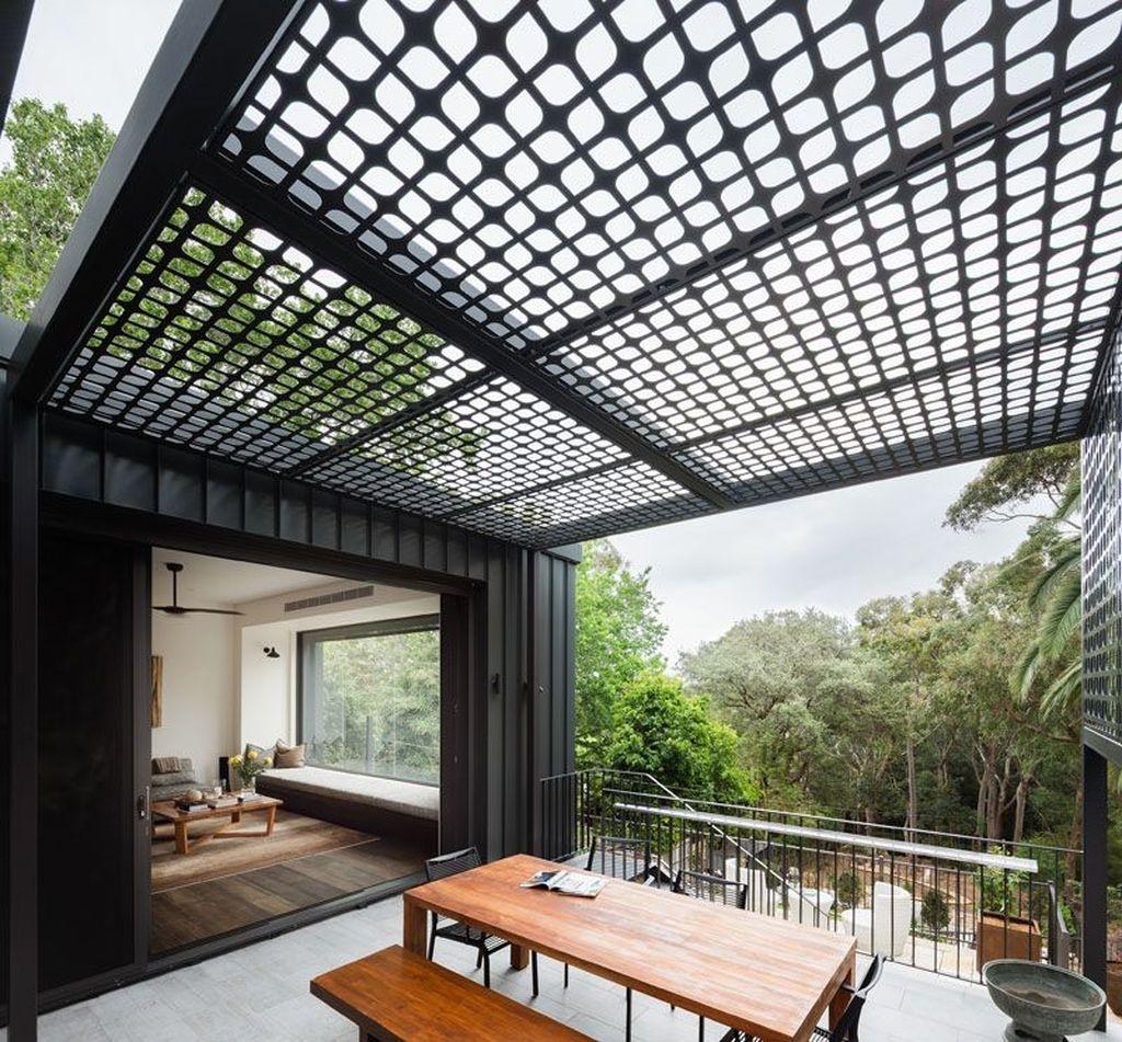 Adorable Outdoor Dining Area Furniture Ideas 30
