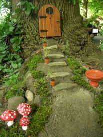 Amazing Backyard Fairy Garden Ideas On A Budget 13