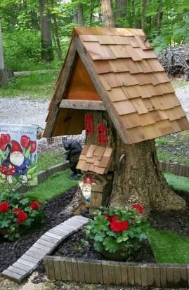 Amazing Backyard Fairy Garden Ideas On A Budget 23