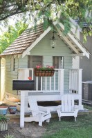 Awesome Outdoor Kids Playhouses That Youll Want To Live Yourself 07