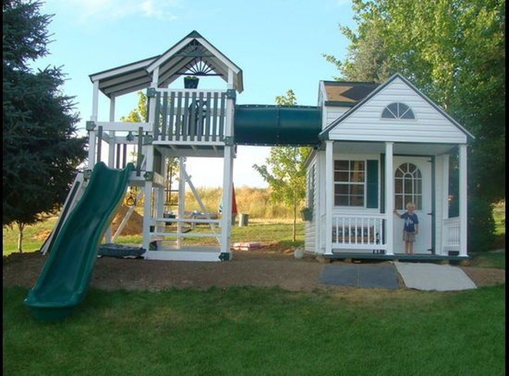 Awesome Outdoor Kids Playhouses That Youll Want To Live Yourself 11