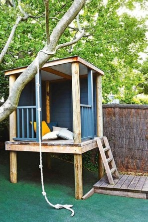 Awesome Outdoor Kids Playhouses That Youll Want To Live Yourself 12