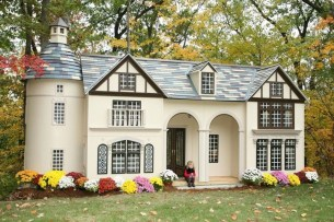 Awesome Outdoor Kids Playhouses That Youll Want To Live Yourself 14