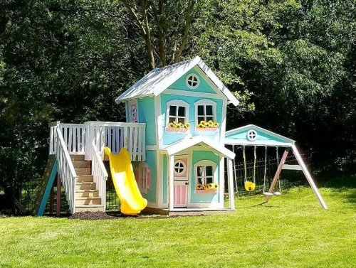 Awesome Outdoor Kids Playhouses That Youll Want To Live Yourself 18