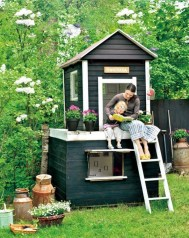 Awesome Outdoor Kids Playhouses That Youll Want To Live Yourself 32