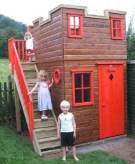 Awesome Outdoor Kids Playhouses That Youll Want To Live Yourself 34