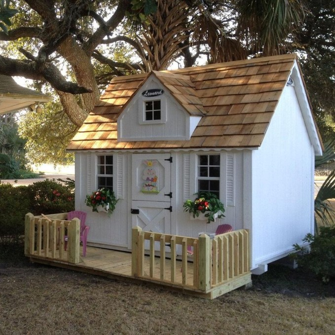 Awesome Outdoor Kids Playhouses That Youll Want To Live Yourself 39