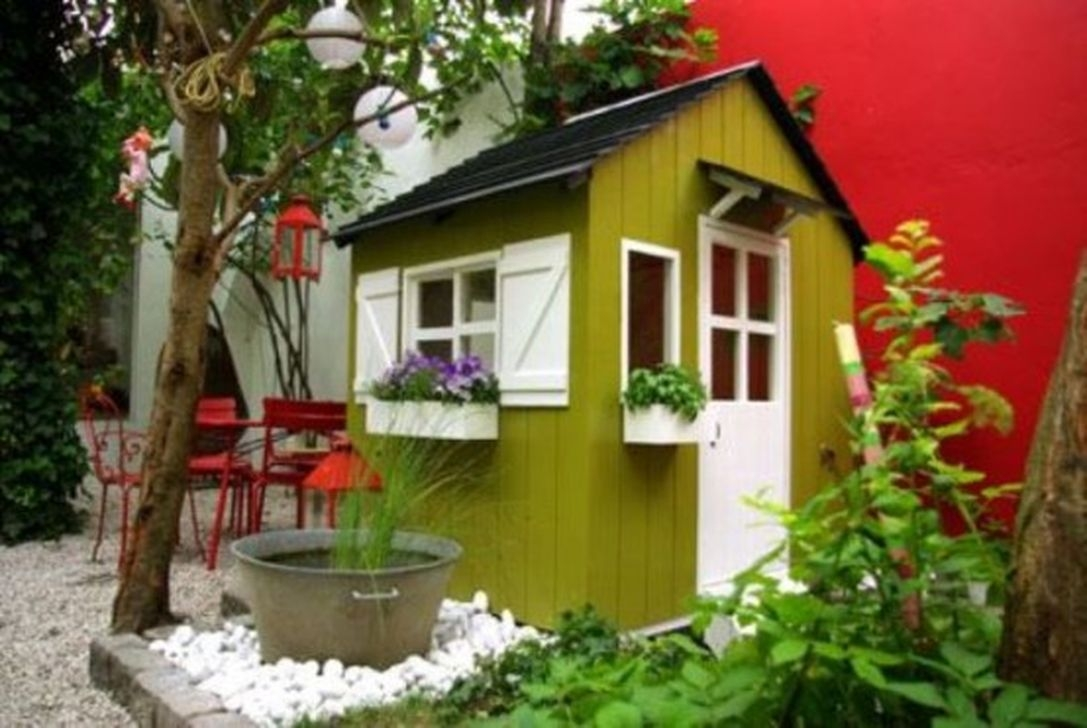 Awesome Outdoor Kids Playhouses That Youll Want To Live Yourself 41