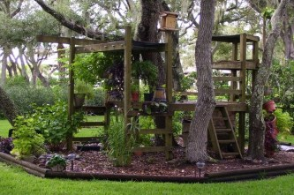 Awesome Outdoor Kids Playhouses That Youll Want To Live Yourself 42