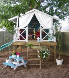 Awesome Outdoor Kids Playhouses That Youll Want To Live Yourself 48