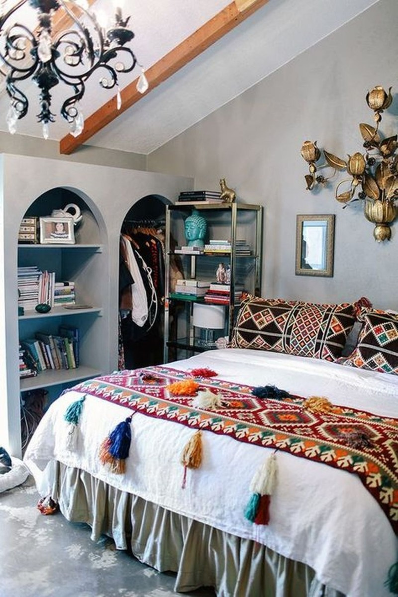 Boho Chic Home Décor Ideas With Mexican Touches06