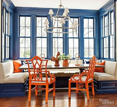 Bright And Colorful Dining Room Design Ideas 16