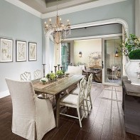 Bright And Colorful Dining Room Design Ideas 30