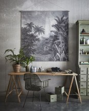Colorful Home Office Design Ideas You Will Totally Love 04