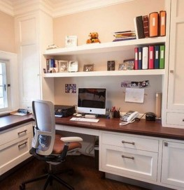 Colorful Home Office Design Ideas You Will Totally Love 07