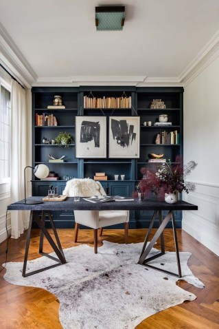 Colorful Home Office Design Ideas You Will Totally Love 08