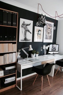 Colorful Home Office Design Ideas You Will Totally Love 15