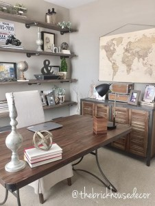 Colorful Home Office Design Ideas You Will Totally Love 29