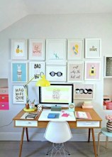 Colorful Home Office Design Ideas You Will Totally Love 30