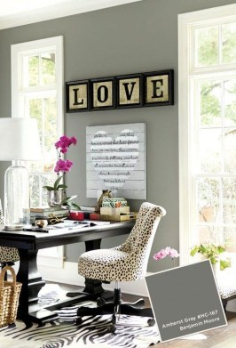 Colorful Home Office Design Ideas You Will Totally Love 33