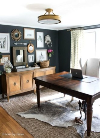 Colorful Home Office Design Ideas You Will Totally Love 35