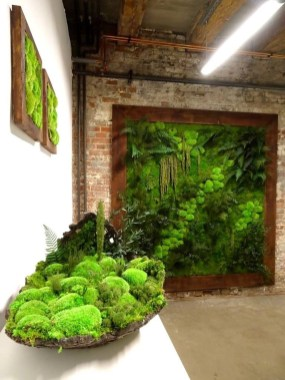 Cool Indoor Vertical Garden Design Ideas 33