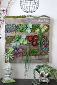 Cool Indoor Vertical Garden Design Ideas 39