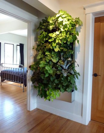 Cool Indoor Vertical Garden Design Ideas 40