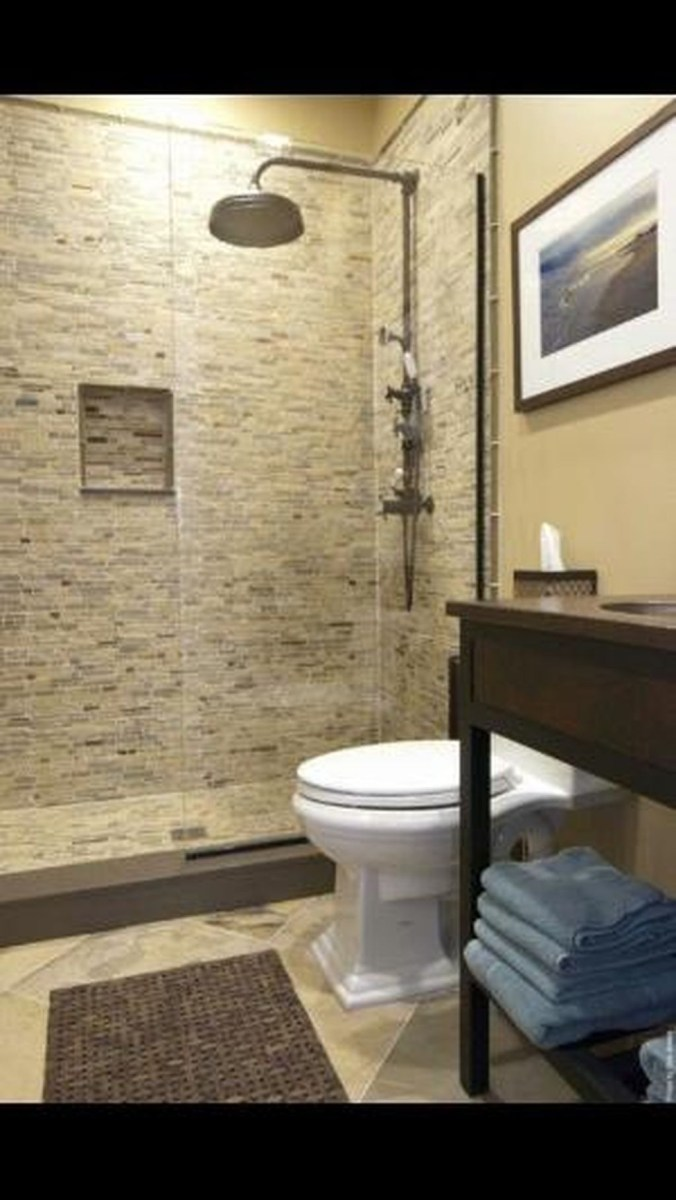 Cool Small Master Bathroom Remodel Ideas 24