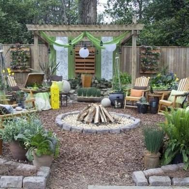 Cozy Backyard Landscaping Ideas On A Budget 41