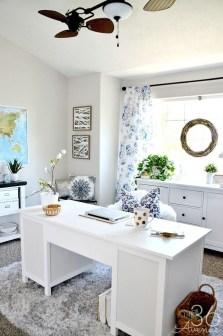 Elegant And Exquisite Feminine Home Office Design Ideas 10