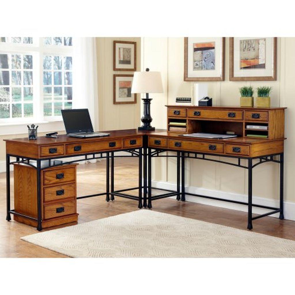 Futuristic L Shaped Desk Design Ideas 03