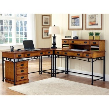 Futuristic L Shaped Desk Design Ideas 03