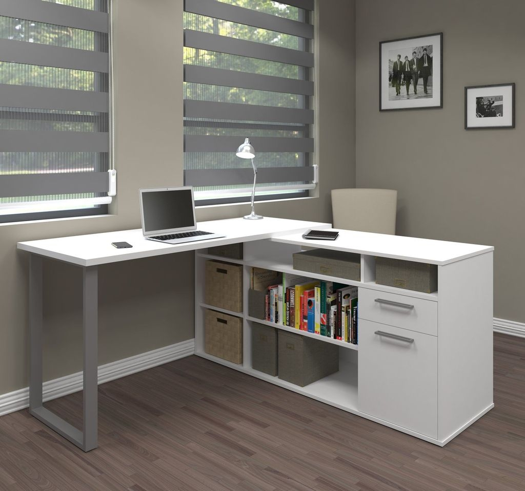 Futuristic L Shaped Desk Design Ideas 05