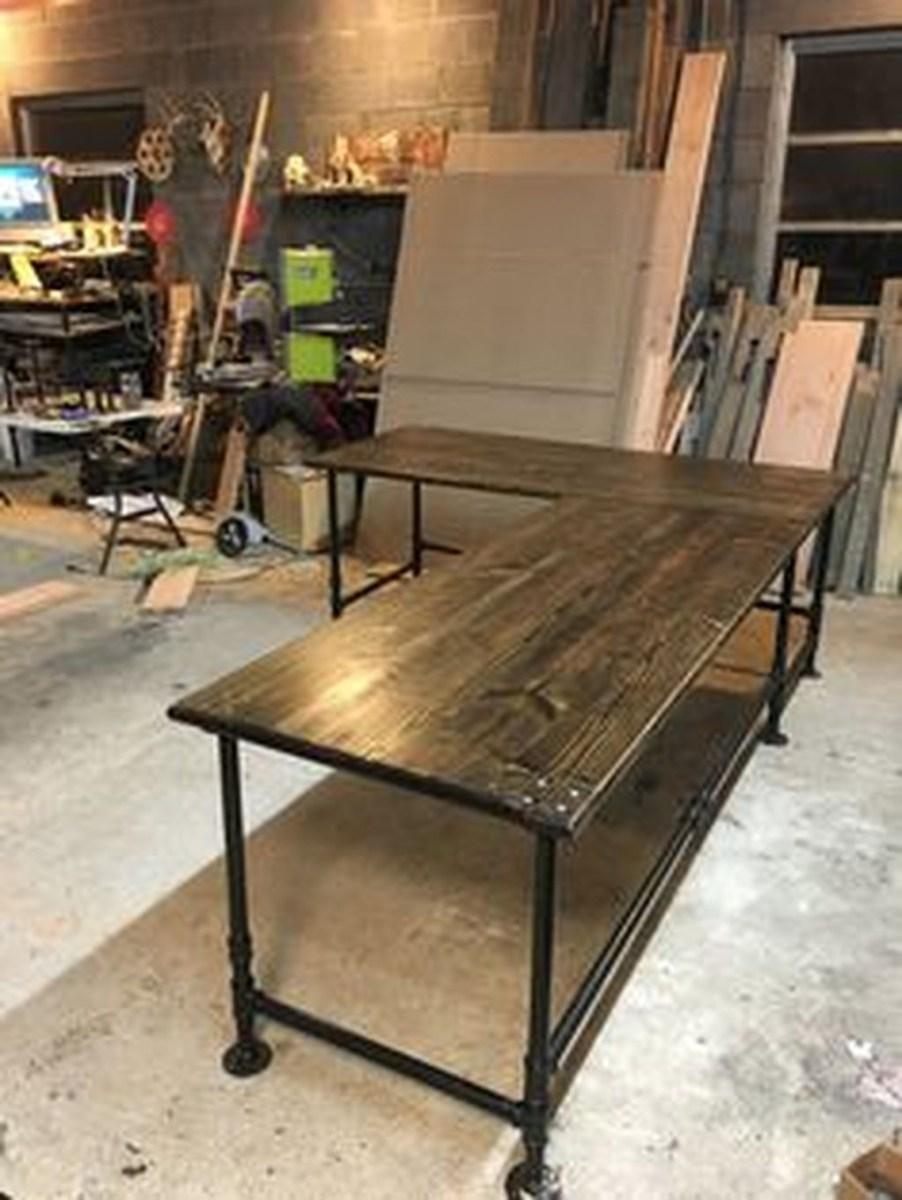 Futuristic L Shaped Desk Design Ideas 17