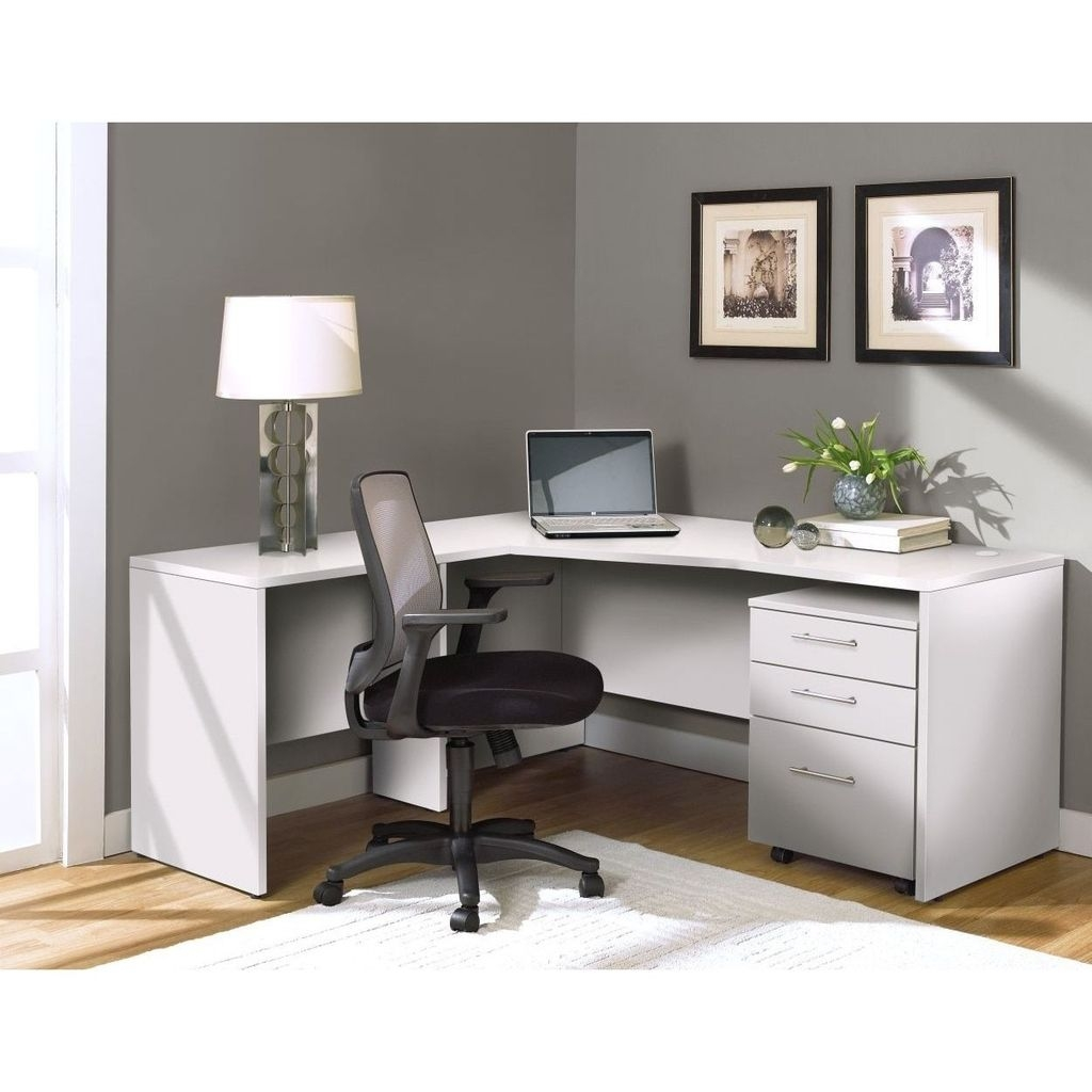 Futuristic L Shaped Desk Design Ideas 18